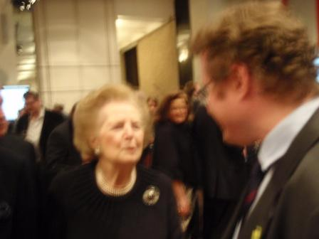 Thanking Lady Thatcher for the Assisted Place Scheme that changed my life…