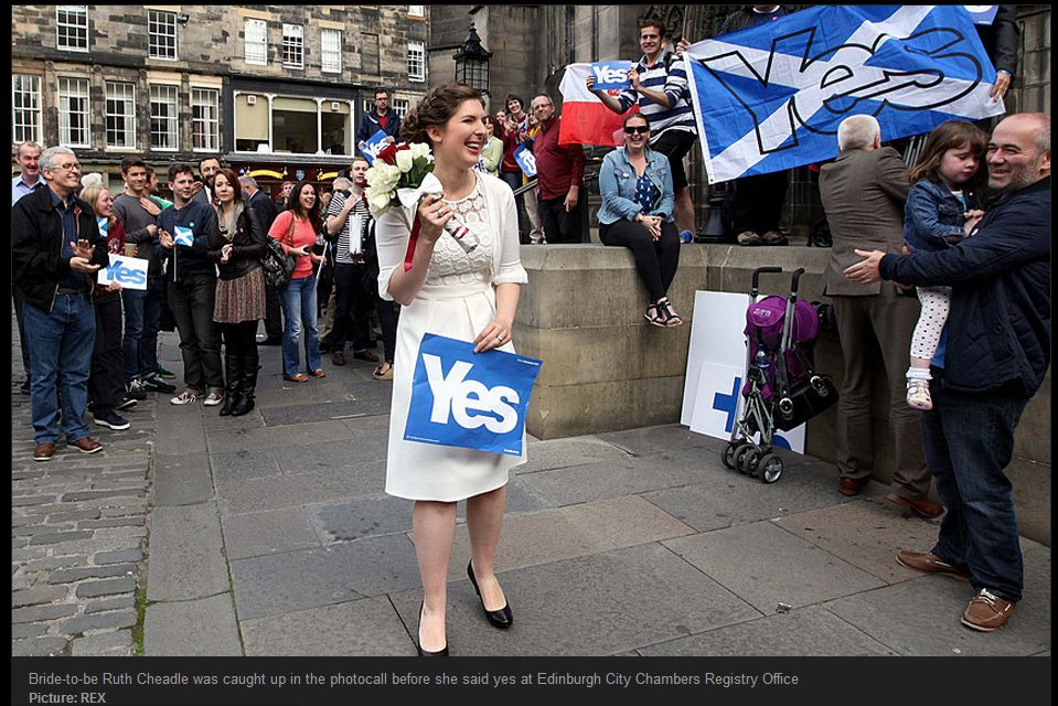 """""""Yes"""" Campaign seem confused about marriage and divorce..."""
